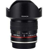Image of Rokinon Rokinon 14mm f/2.8 IF ED UMC Manual Focus Lens with AE Chip for Canon EF Camera, 10 Groups / 14 Elements, 0.9' Minimum Focusing Distance