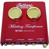 Rolls Bellari MT502 Step-Up Transformer with Moving Coil Cartridges for Turntables