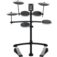 Image of Roland TD-1K Entry Level Electronic V-Drums Set with Stand, Includes TD-1 Percussion Sound Module, Snare, 3x Tom, Crash and Ride, Hi-Hat, Kick Pedal, Hi-Hat Pedal