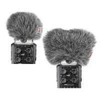 Image of Rycote Mini Windjammer Combo Set, Includes One Windjammer for Zoom H6 Mid-Side and One Windjammer for X/Y Capsules