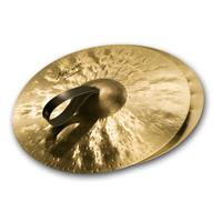 "Image of Sabian 16"" Artisan Traditional Symphonic Hand Cymbals, Medium-Heavy, Brilliant Finish, Pair"