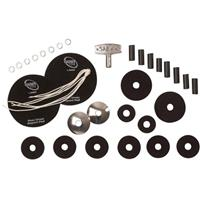 Image of Sabian Crisis Kit with Cymbal Felts, Tension Rods, Bass Drum Impact Pads, Snare Cords, Drum Key and Washers