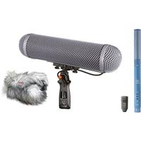 Image of Schoeps CMIT M/S Stereo Microphone Set, Includes CMIT5U Shotgun Microphone, CCM8 L Figure-Eight Microphone, WSR 3 CMIT LU Windshield for CMIT 5U, Cabling