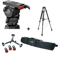Sachtler 0450 FSB 6 T SL MCF Tripod System with Fluid Head & Mid Level Spreader, Supports 13.2 l Product image - 156