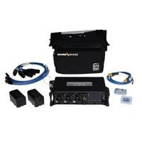 Sound Devices 633 Compact 6-Input Field Mixer Kit, Includes CS-633 Bag, 3x XL-2F Cable, 2x XL-2 Cable, XL-LB2 Cable, 2x XL-B2 Batteries, 16GB CF/SD Card