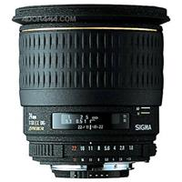 Sigma 24mm f/1.8 EX Aspherical DG DF Macro AutoFocus Wide Angle Lens with Hood for Nikon AF D Camera Product image - 2116