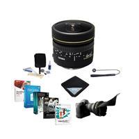 Image of Sigma 8mm f/3.5 EX DG Circular Fisheye AF Lens for Nikon Cameras - USA Warranty - Bundle with Flex Lens Shade, Cleaning Kit, Lens Wrap, Lens Cap Leash, Software Package