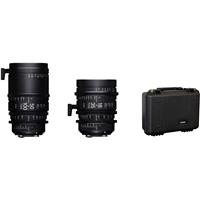 Image of Sigma 18-35mm T2 & 50-100mm Cine High-Speed Zoom Lenses for PL Mount with Case