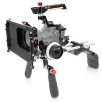 Image of Shape Shoulder Mount with Matte Box and Follow Focus for Sony Alpha a7R IV Camera