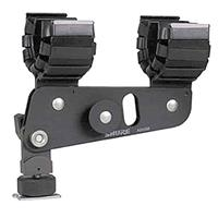 """Image of Shure A88SM Isolation Shock Mount for the VP88 Stereo Microphone or any Microphone with a Handle Diameter of Approximately 27mm, (1-1/16"""".)."""