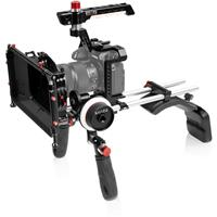 Image of Shape Shoulder Mount with Matte Box and Follow Focus Kit for Panasonic Lumix S1/S1R Cameras