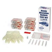 Image of Sirchie Atomic Absorption Analysis Test Kit for Firearm Discharge Residue, Set of 10 Test