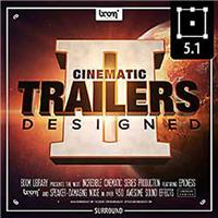 Image of Sound Ideas Cinematic Trailers Designed 2 Sound Effects Library by Boom, Stereo and 5.1 Surround Bundle, Download