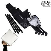 """Scrim Jim Medium Scrim Kit with 42x72"""" Frame, Two Textiles and Carry Bag. Product image - 437"""