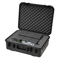Image of SKB iSeries Injection Molded Waterproof Case for Yamaha DTX-MULTI 12 Multipad or Roland SPD-S Sampling Pad Custom Interior