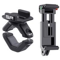 "Image of SP-Gadgets Mount Bundle for 2.4-3.5"" Wide Smartphones, Includes Phone Mount, Clip Mount, Smart Clip, Quickscrew, Screw Wrench, Bar Mount LT, Rubber Spacing Inserts"