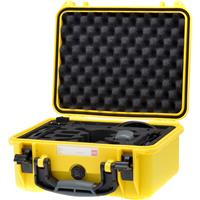 """Image of HPRC HPRC2300 13"""" Hard Case with Custom Foam for DJI Spark Fly More Combo Kit, Yellow"""