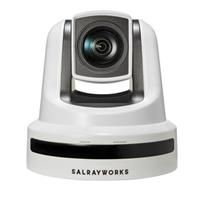 Image of Salrayworks K-S30G 1080p 1/2.8'' Exmor R CMOS Sensor PTZ Camera, Sony 30x Optical Zoom, 12x Digital Zoom, Genlock, White