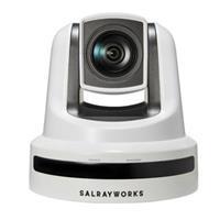 Image of Salrayworks K-S30 1080p 1/2.8'' Exmor R CMOS Sensor PTZ Camera, Sony 30x Optical Zoom, 12x Digital Zoom, White