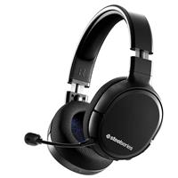 SteelSeries Arctis 1 4-in-1 Wireless Gaming Headset with ClearCast Detachable Microphone for PS4
