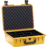 Image of Pelican iM2400 Case, Watertight, Padlockable Case, No Foam or Divider Interior, Yellow