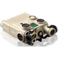 Image of Steiner Advanced 3 Class 1/3R Civilian Dual Beam Visible Green/IR Aiming Laser Sight with IR Illuminator, Desert Sand
