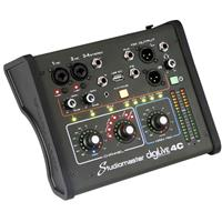 Image of Studiomaster digiLivE 4C 4-Channel Analog Digital Mixing Console