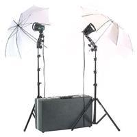 Smith Victor K22U-A 2 700SG Quartz Light, 1200-Watt Umbrella Location Kit with 650 Attache Carrying  Product image - 722