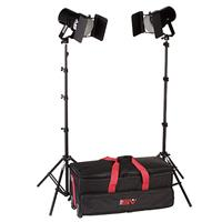 Popular Smith Victor K62, 2 Q60SG, 1200-Watt Broad Lighting Kit with Light Cart on Wheels Carrying Case. Product photo