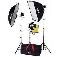 Smith Victor K70, 3 765UM Quartz Light, 1800-Watt Fully Accessorized Professional Quartz Kit with Li Product picture - 168