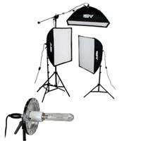 Smith Victor 2500 Watt Pro Softbox Three Light Kit with 10' Stands, 2 1000W & 1 500W Quartz Lamp Product image - 19
