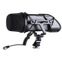 Image of Sevenoak SK-SVM30 Alloy Stereo PRO Super Cardioid Video Microphone with Shockmount for DSLR Cameras and Camcorders