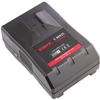 Image of SWIT Electronics Pro Video Rechargeable Li-ion Battery, V-Lock Mount, 95wh with D-tap DC output