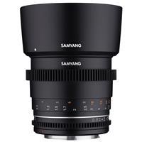 Image of Samyang 85mm T1.5 Cine VDSLR MK2 Lens for Canon RF