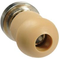 Telex ET-1 Eartip with Metal Plug for Telethin Receivers, Salmon