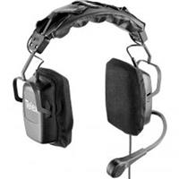 Telex PH-2PT Dual-Sided Full Cushion Headset with Pigtail Termination, 50Hz-15kHz Headphones Frequency, 150Ohms Headphones & Mic Impedance