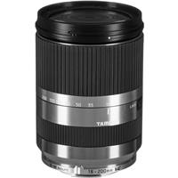 Image of Tamron 18-200mm f/3.5-6.3 Di III VC Lens for Canon EF-M Mount - Silver