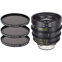 Image of Tokina Cinema ATX 11-20mm T2.9 Wideangle Zoom Lens with Nikon F Mount, 3x 86mm PRO IRND 0.6, 0.9, 1.2 Filter Kit