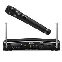 TOA Electronics WS5225 Wireless Handheld Microphone System, Includes WM-5225 UHF Condenser Mic Transmitter, WT-5810 Diversity Tuner, E01 668-698MHz Frequency