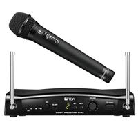 TOA Electronics WS-5265 Handheld Dynamic Wireless Microphone Kit Includes WM-5265H Transmitter, WT-5810 Diversity Tuner, G02: 606-636MHz Frequency Range