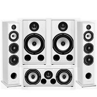Triangle Borea 5.1 Surround Sound Speaker Package in White