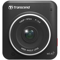 Transcend DrivePro 200 Full HD Wi-Fi Car Video Recorder Dashcam with Suction Mount & 16GB microSD Memory Card