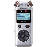 Image of Tascam DR-05X Stereo Handheld Digital-Audio Recorder and USB Audio Interface, Silver