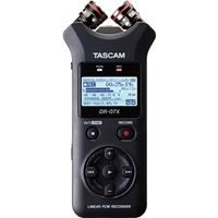 Image of Tascam DR-07X Stereo Handheld Digital Audio Recorder with USB Audio Interface