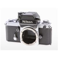 Nikon Nikon F-2/AS Chrome Camera Body With DP-12 Finder and M-D2 & MB-1