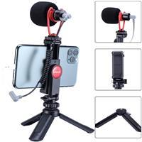Image of Ulanzi Smartphone Vlogging Super Outfit Video Kit, Includes Mini Tripod, ST-06 Phone Tripod Mount & VM-Q1 Microphone