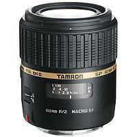 Image of Tamron Tamron SP 60mm f/2 Di II 1:1 AF Macro Auto Focus Lens for Canon EOS.