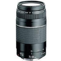 Image of Canon Canon EF 75-300mm F/4-5.6 III Autofocus Telephoto Zoom Lens