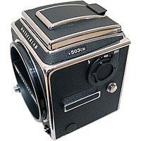 Hasselblad Hasselblad 503CW Medium Format Manual Focus SLR Camera Body (Chrome) With Waist Level Finder