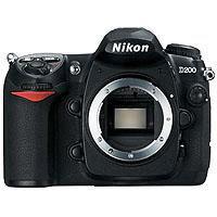 Image of Nikon Nikon D200 10.2 Megapixel Digital SLR Camera Body
